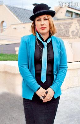 Ева Польна на дне открытых дверей. Лужники. 2012 г.