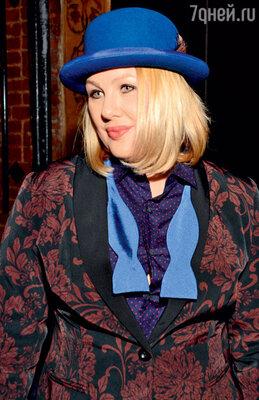 Ева Польна на концерте. 2012 г.