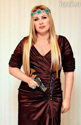 Ева Польна на премии «Золотой граммофон». 2011 г.