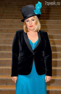 Ева Польна на одном из музыкальных шоу. 2011 г.