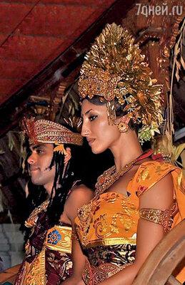 Свадьбу Полина и Бен сыграли на Бали