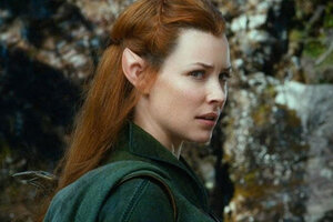 Сын Эванджелин Лилли пугался ее эльфийского наряда