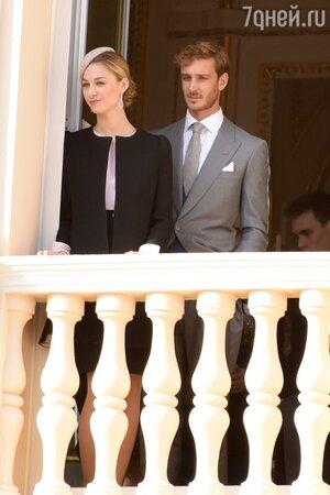 Пьер Казираги с супругой