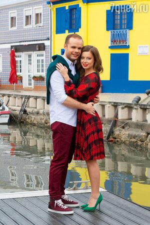 Юлия Савичева и Александр Аршинов в Португалии