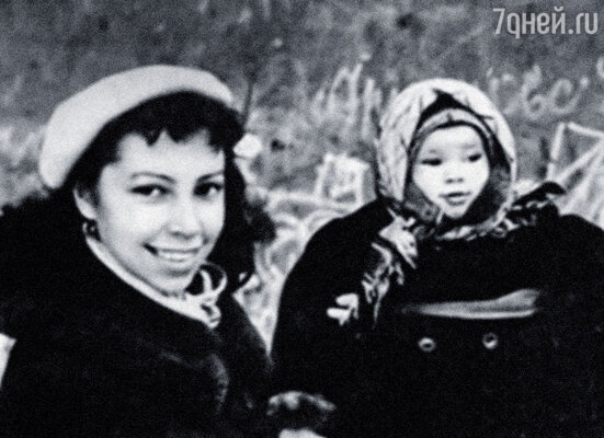 Первая жена Ирочка Ротова  с нашей дочкой Надей