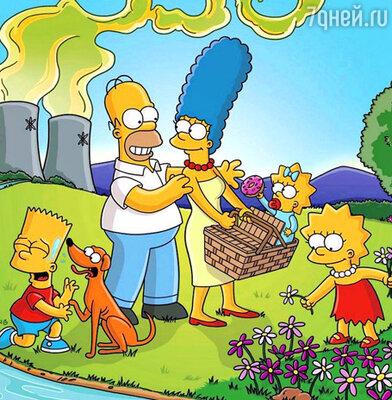 """Кадр из мультфильма """"The Simpsons"""""""