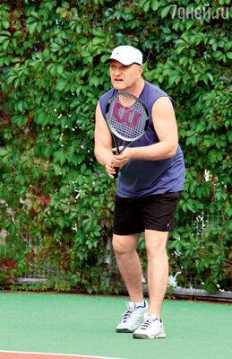 Александр Балуев активно тренировался в надежде на матч сХаратьяном