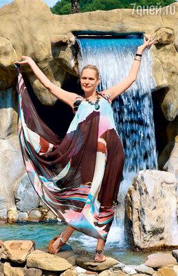 Алена Яковлева представила себя языческой богиней воды