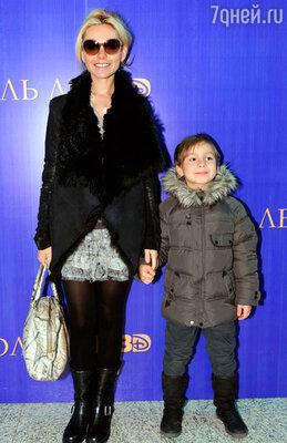 Мария Цигаль с сыном