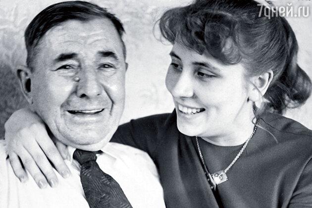 Mама Евгения Весника-младшего с  прадедом Демидовым