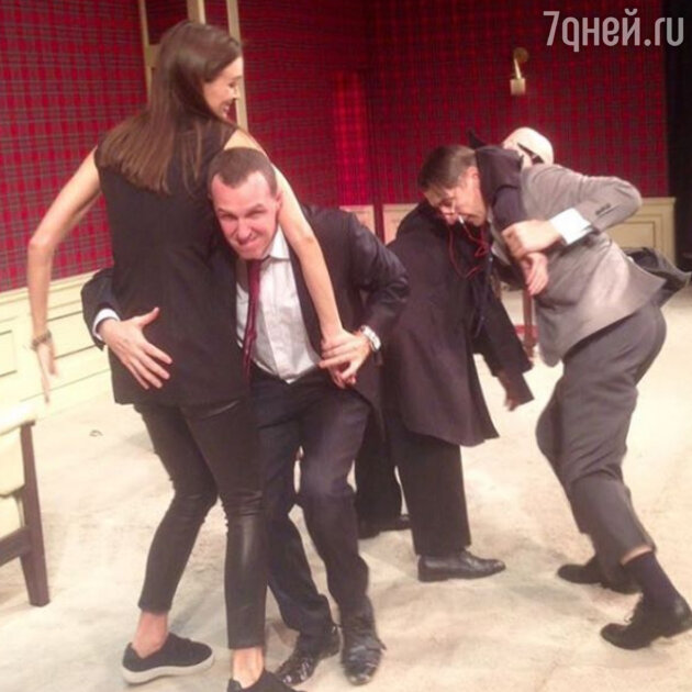 Игорь Верник и Паулина Андреева