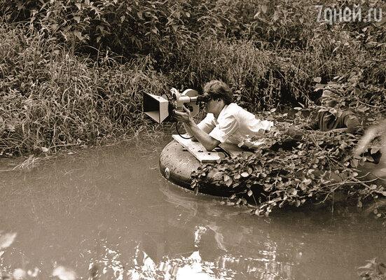 Оператор Георгий Рерберг был признанным гением еще при жизни. (На съемках фильма А. Тарковского «Зеркало»)