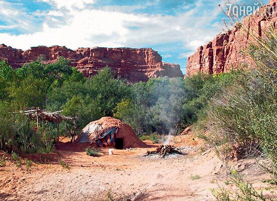 В таких условиях живут коренные жители Большого каньона
