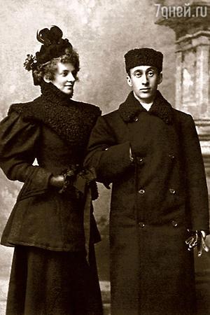 Ольга Спесивцева и Аким Волынский