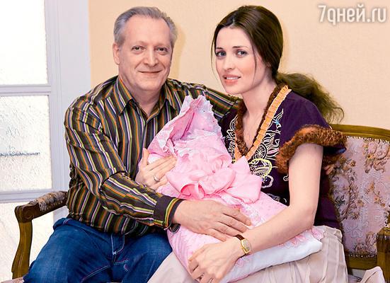 Евгений Болдин, Марина Лях и их дочь Маша
