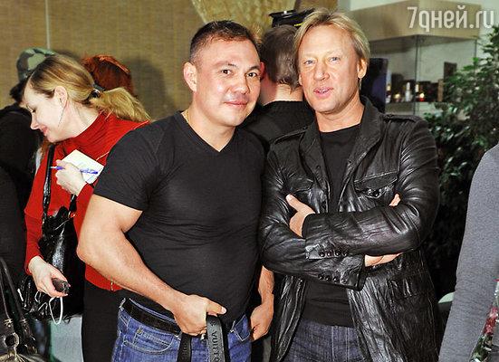 Костя Цзю и Дмитрий Харатьян