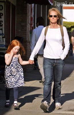 Хелен с дочкой Макенной