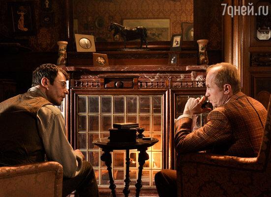 В квартире Шерлока Холмса будет стоять тот же камин, что и у его сериального предшественника в исполнении Василия Ливанова