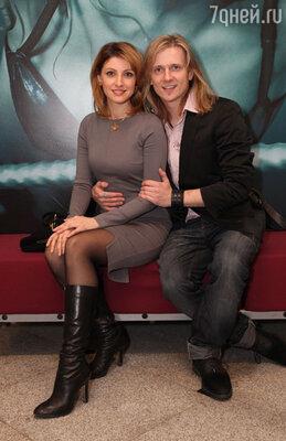 Анастасия Макеева с мужем Глебом