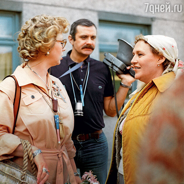 Светлана Крючкова, Никита Михалков и Нонна Мордюкова