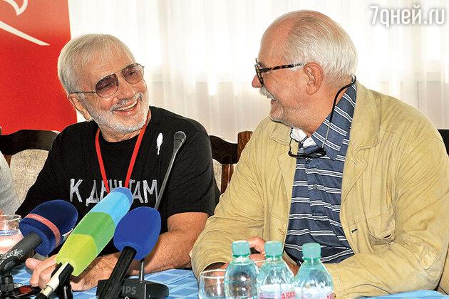 Никита Михалков и Виктор Мережко