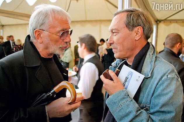 Виктор Мережко с Олегом Янковским