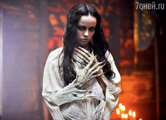 Ольга Зайцева в образе панночки