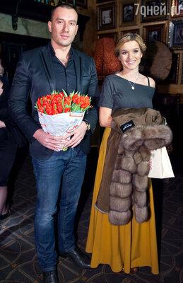 Ксения Бородина с Михаилом Терехиным