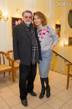 Александр Ширвиндт и Елена Подкаминская