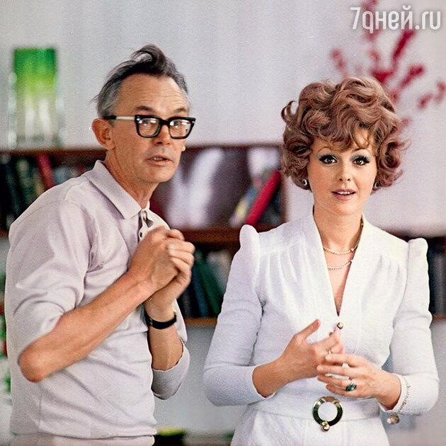 Наталья Селезнева с Леонидом Гайдаем