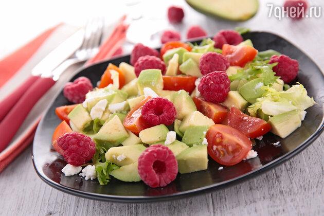 Диетический салат с тунцом и авокадо от Екатерины Кузнецовой