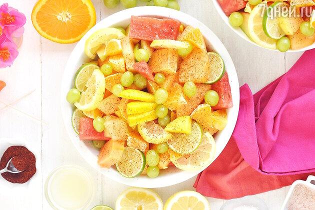 Легкий фруктовый салат: рецепт вкусной и полезной закуски