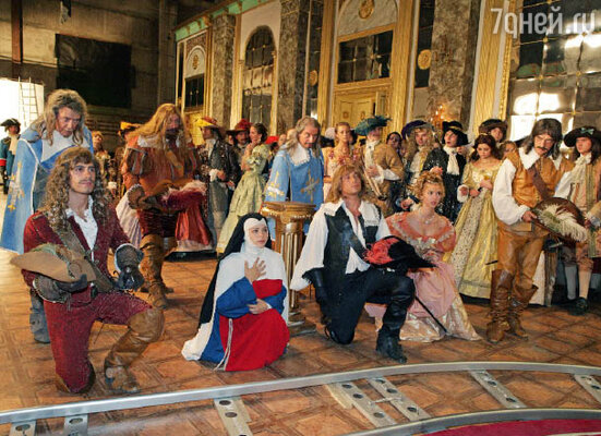Фото со съемочной площадки фильма «Возвращение мушкетеров, или Сокровища кардинала Мазарини»