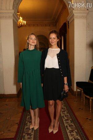Виктория Исакова и Анна Бегунова
