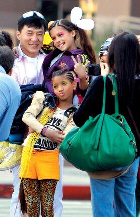 Актер очень любит детей