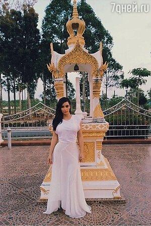 Ким Кардашьян в Таиланде