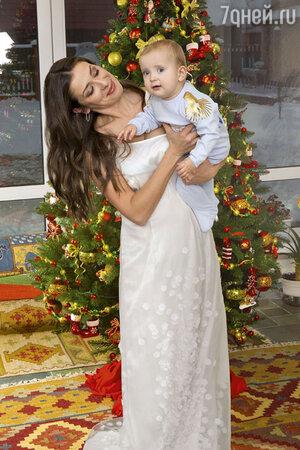 Мария Ситтель с сыном