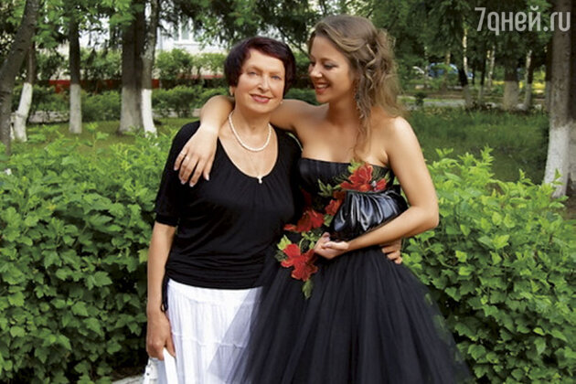Дочь Марии Ситтель с бабушкой