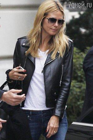 Хайди Клум в Париже