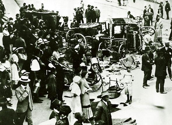 ���� �� ����� � ������� ����� �������� ������ ���������� � �����. 28 ���� 1914 �.