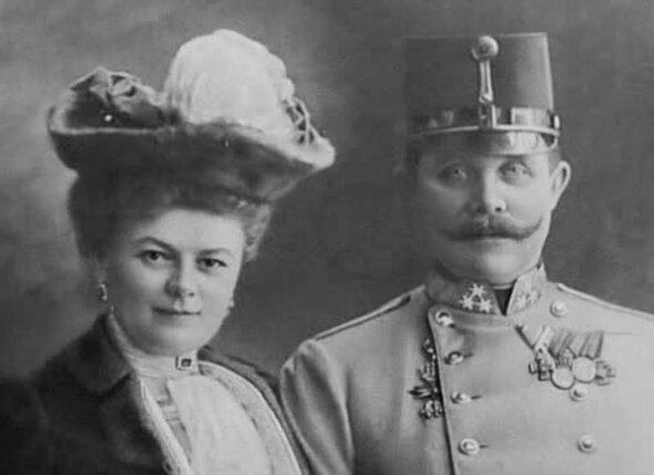 28 июня 1914 г. исполнялось 14 лет с тех пор,  как эрцгерцог Франц Фердинанд и София получили главное —  счастье быть вдвоем. Возможность поехать вместе с женой была  для него очень важна