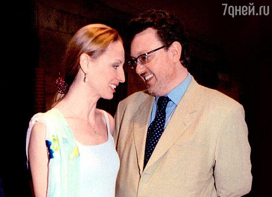 Илзе Лиепа и ее муж Владислав