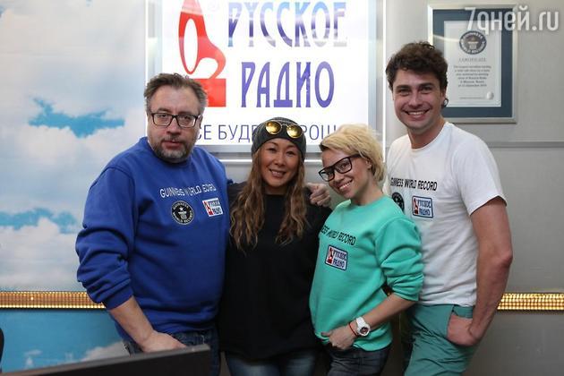 Вадим Воронов, Алиса Селезнева, Дмитрий Оленин и Анита Цой