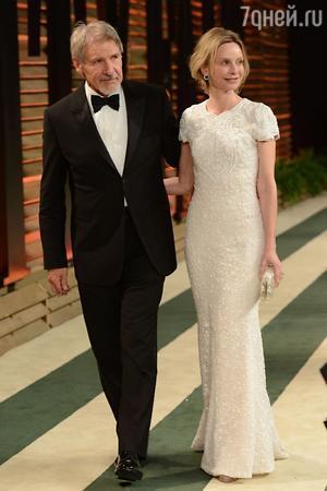 Харрисон Форд с женой