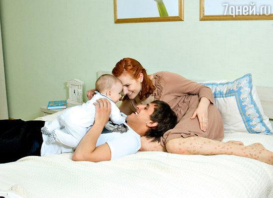 «Главное, что у меня есть, — это любимая жена и ребенок!»