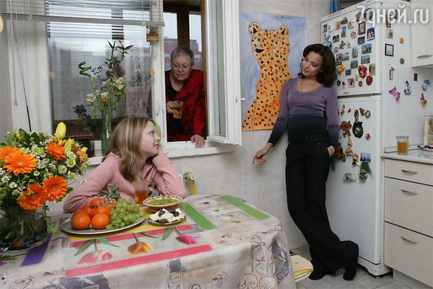 Дарья Повереннова  с мамой Татьяной Сергеевной и дочерью Полиной