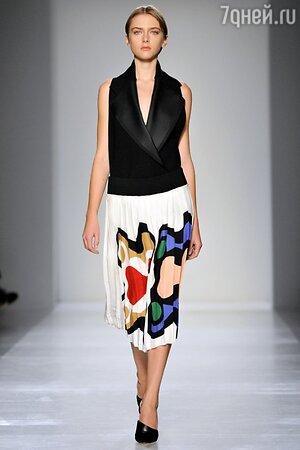 Victoria Beckham, показ коллекции осень-зима 2014/15 в рамках Недели моды в Нью-Йорке