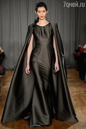 Zac Posen, показ коллекции осень-зима 2014/15 в рамках Недели моды в Нью-Йорке