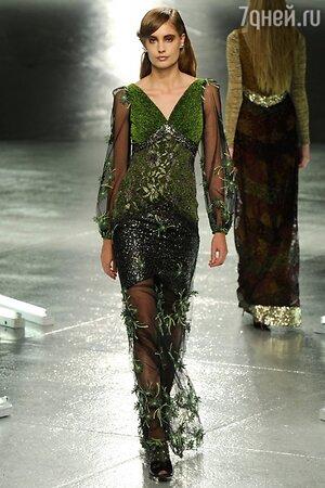 Rodarte, показ коллекции осень-зима 2014/15 в рамках Недели моды в Нью-Йорке