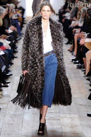 Michael Kors, показ коллекции осень-зима 2014/15 в рамках Недели моды в Нью-Йорке